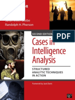 Instructors Materials for Cases in Intel Analysis