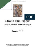 Dragon Magazine 310 Rogue PRCs