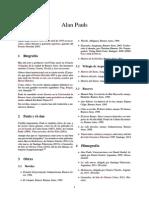 Alan Pauls (algunos datos biográficos)