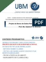 Aula 03 - Projeto de Banco de Dados - Modelagem Uml (Classes)