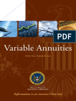 SEC Guide to Variable Annuities