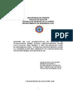 estudio de Las Alternativas de Sistemas de Fundaciones