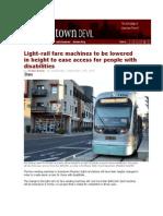 front page downtown devil light rail