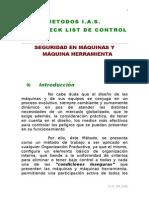 0.4.1.3. Seguridad en El Trabajo - Check List - Maquinas y Maq- Herramienta