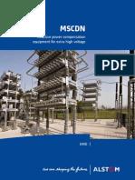 MSCDN Reactive Power Compensation