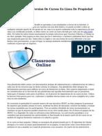 Comienza Quinta Version De Cursos En Linea De Propiedad Industrial
