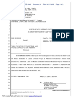 Watson v. Yolo County Flood Control - Document No. 9