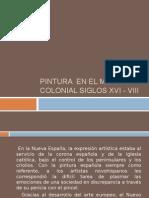 Pintura en El México Colonial