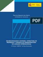 discrecionalidad contable, estructura de propiedad y consejo de administracion