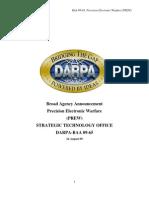 DARPA - Precision Electronic Warfare (PREW)