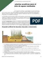 El uso de plantas acuaticas para el tratamiento de aguas residuales.pdf