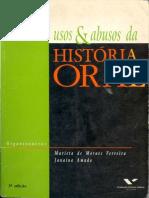 Usos Da Biografia