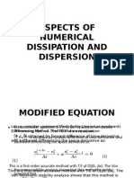 Aspects of Numerical Dissipation and Dispersion - Copy