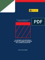 el informe de auditoria y su efecto sobre la decision del cambio de auditor