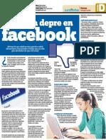Facebook y su impacto en conductas depresivas