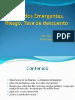 MercadoEmergemte- Riesgo- Tasa Descuuento