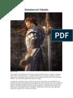 D&D3.5 Rebalanced Paladin