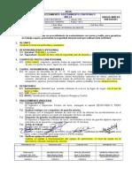 Ee-001-Pro-min-011 Sostenimiento Con Perno y Malla