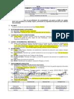 Ee-001-Pro-min-013 Sostenimiento de Perno y Malla Con Equipo Grua