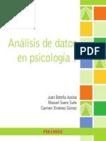 Anlisis de Datos en Psicologa I