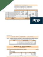 Presupuesto Analitico Riego Conchacalla 2010