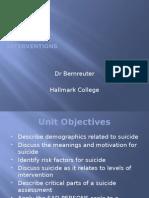 nursing suicide study