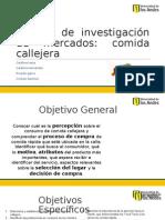 Presentación Comida Callejera