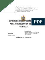 Trabajo de Unidad 1.1 Sistemas de Abastecimiento