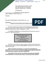 Trustees of Carpenters & Millwrights Health Benefit Trust Fund et al v. William R. Montgomery & Associates, Inc. - Document No. 6