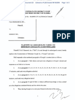 F & G Research, Inc. v. Google, Inc. - Document No. 23