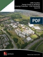 UWE CAD Standards - Issue 03