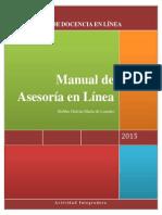 María de Lourdes Robles Galván. Manual de Asesoría en Línea