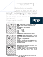 Academia Araxaense de Xadrez Prof°. Adriano Pena
