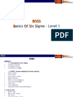 BOSS - Module 1(basics of six sigma)