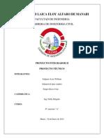 Informe Del Proyecto Tecnico
