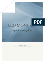 SAMSUNG LCD Monitor 2033SN/2233SN