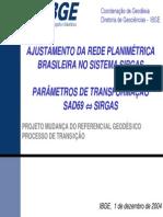 Costa 01dez2004 Ajuste Parametros II Seminario