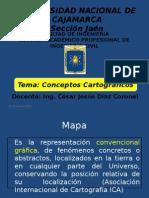 002Conceptos Cartográficos - Cartografía UNCSJ ING. CÉSAR DÍAZ CORONEL