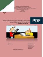 """Curso de Formación y Actualización Para Docente de Educación Básica Del Liceo Bolivariano """"Armando Reverón"""","""
