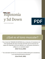 Hipotonía.SD DOWN ppt