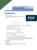 03 Binomial Theorem
