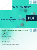 Green Chemistry, An Introduction