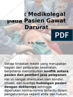 Aspek Medikolegal Pada Pasien Gawat Darurat