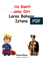 Kata Ganti Nama Laras Istana-Bahasa Cina