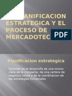 Capitulo #2 Planificacion Estrategica y El Proceso de Mercadotecnia