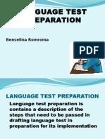 Language Test Preparation
