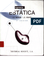 Mecanica para Ingenieros, Estatica -- Meriam.pdf