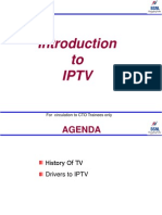 1.1 Introduction to IPTV