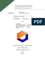 Laporan Praktikum Teknik Perawatan Praktek Gelas (Print)