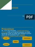 Penjaminan (Hk.Perdata).ppt